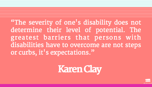 quotes about overcoming disability quotesgram