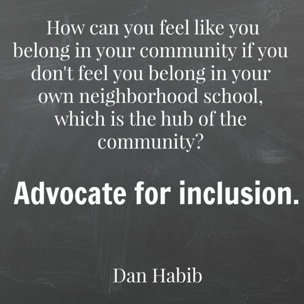 Dan Habib: Disabling Segregation