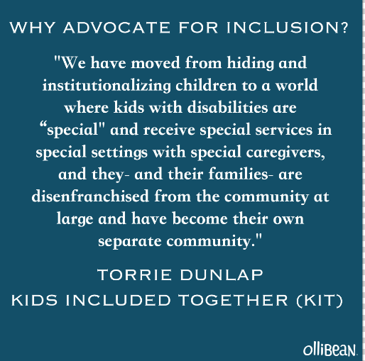 Why Advocate for Inclusion?