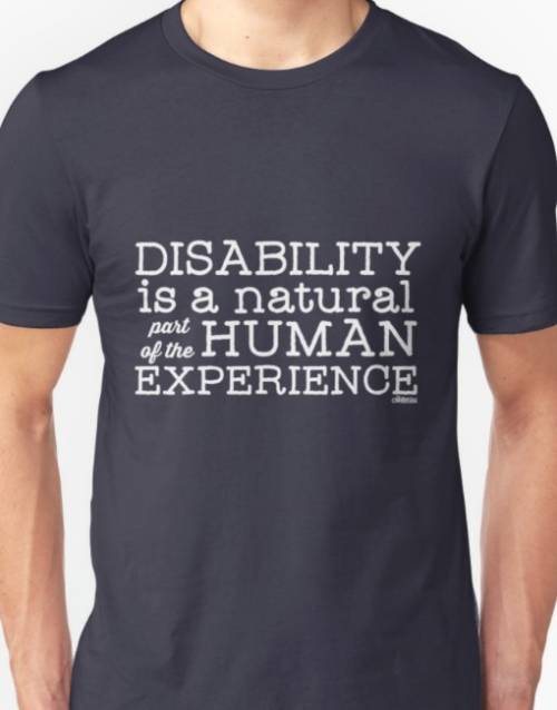"Disability is a natural part of the human experience"" ollibean logo"