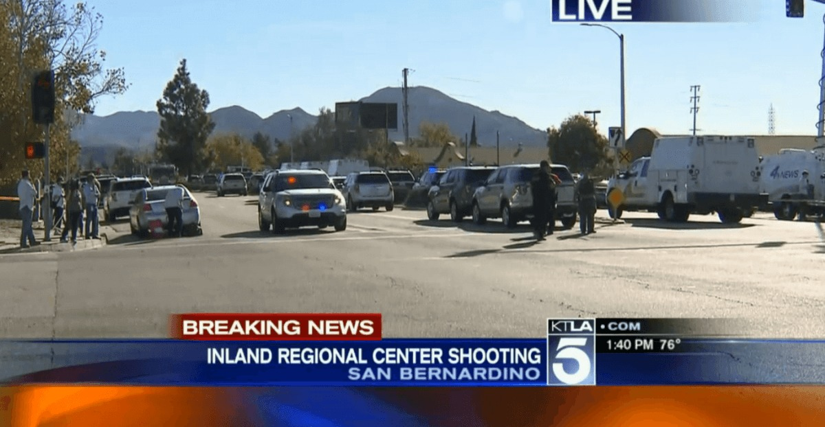 14 Dead in Mass Shooting at San Bernardino Center for People with Disabilites