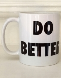 "Ollibean ""Do Better"" mug"