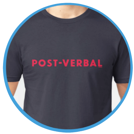 Post-Verbal T-shirt