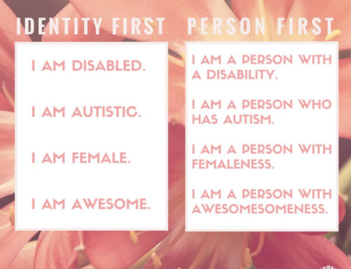 Person First Language and Ableism
