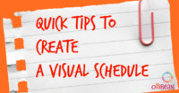 Quick Tips to Create a Visual Schedule