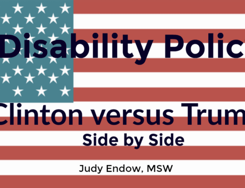Disability Policy: Clinton versus Trump